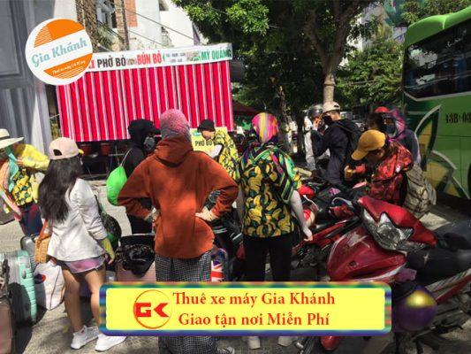 Cho thuê xe máy Hà Nội uy tín giao tận nơi