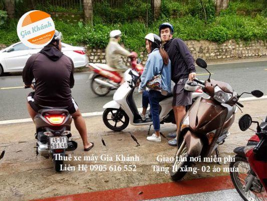 Thuê xe máy đường Trần Quốc Toản