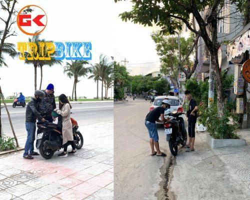 dịch vụ thuê xe máy ở nha trang Ngày hè vàng