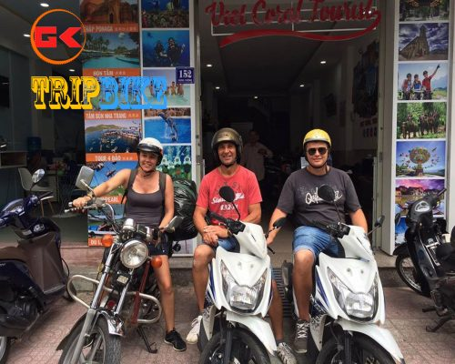 mướn xe máy nha trang san hô việt