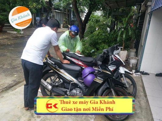 Thủ tục thuê xe máy tại hà Nội không cần đặt cọc