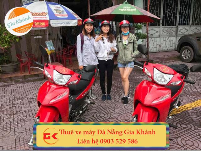 Thuê xe máy Đà Nẵng uy tín