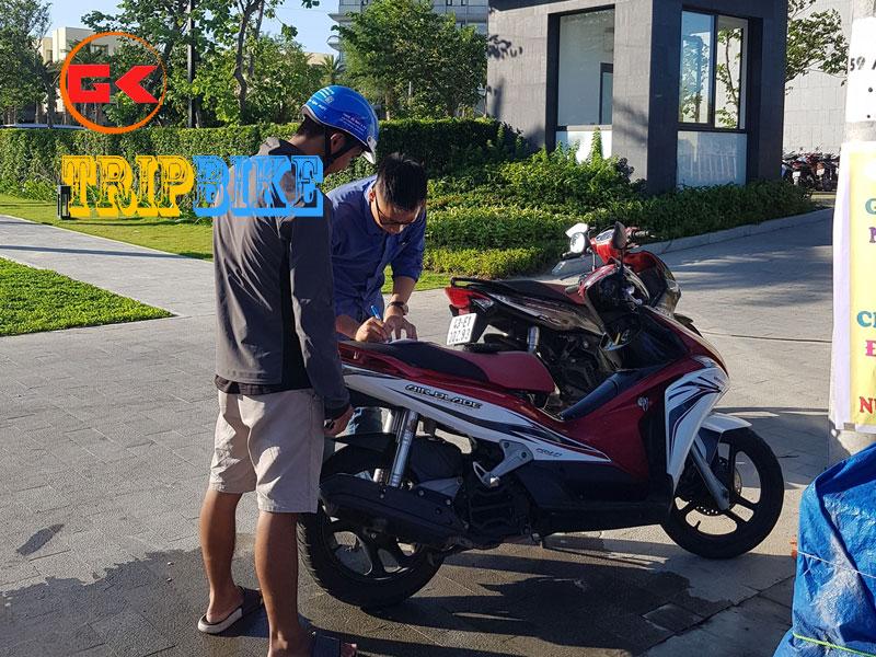 Thuê xe máy Dĩ An Bình Dương Bảo Long