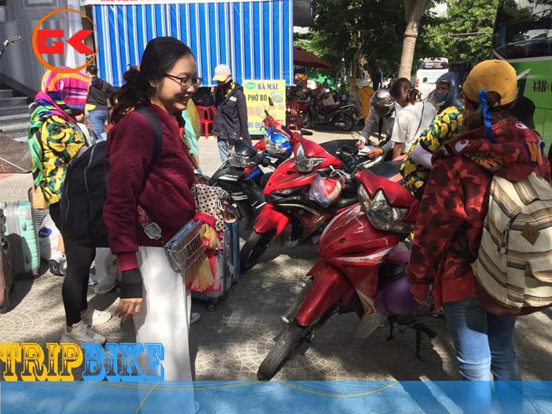 Thuê xe máy gần ga Huế