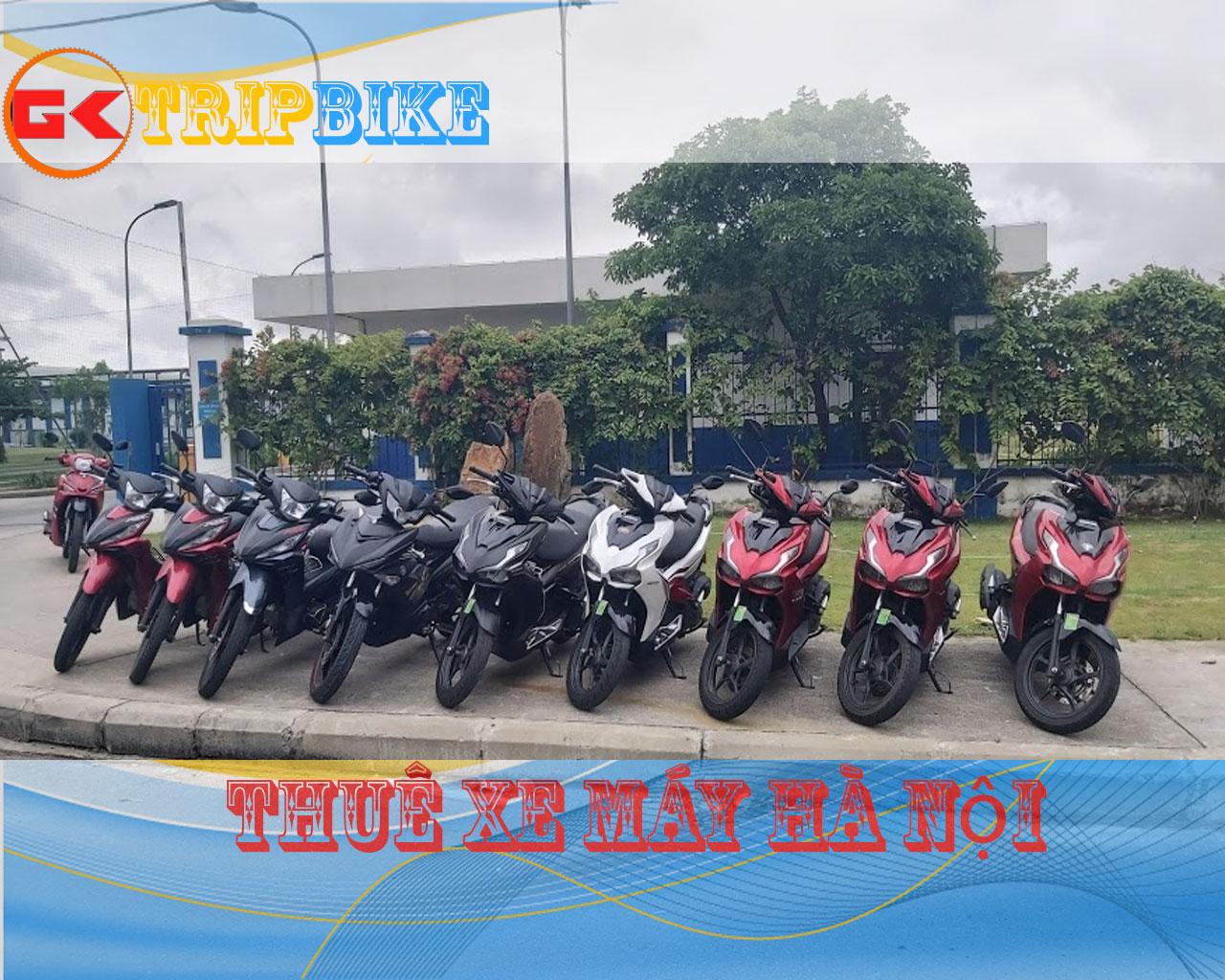 thuê xe máy hà nội Giao xe tại các quận miễn phí