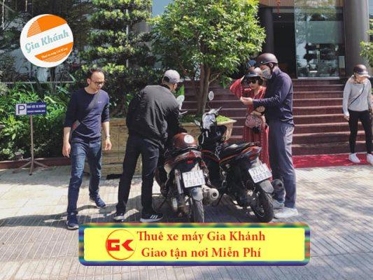 Dịch vụ Thuê xe máy ở Cầu Giấy Hà Nội giá rẻ