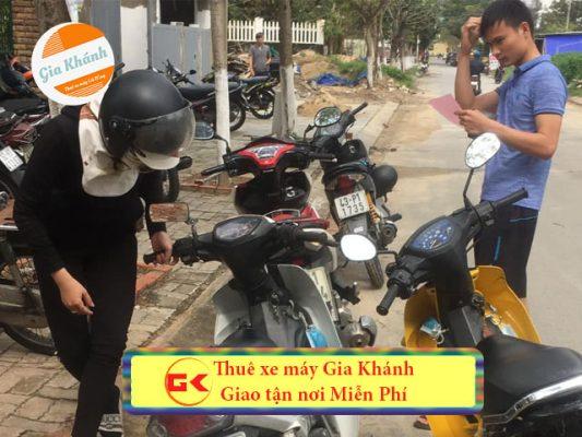 Thủ tục Thuê xe máy ở Hà Nội Không Cần Đặt cọc thủ tục dễ dàng