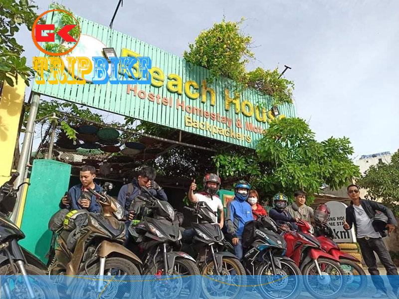 Thuê xe máy Quảng Bình BH