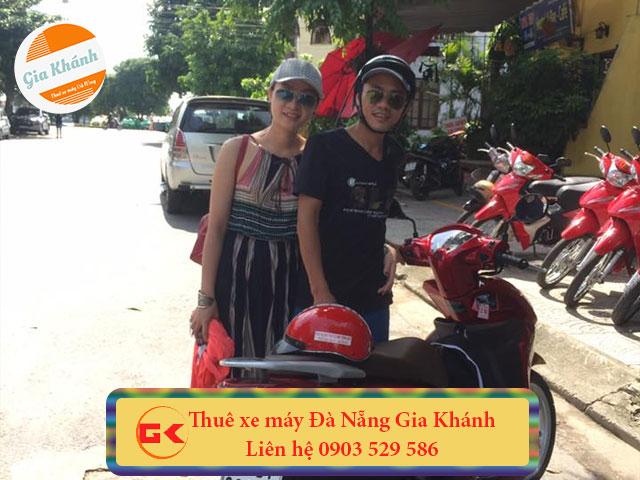 Thuê xe máy sân bay Đà Nẵng
