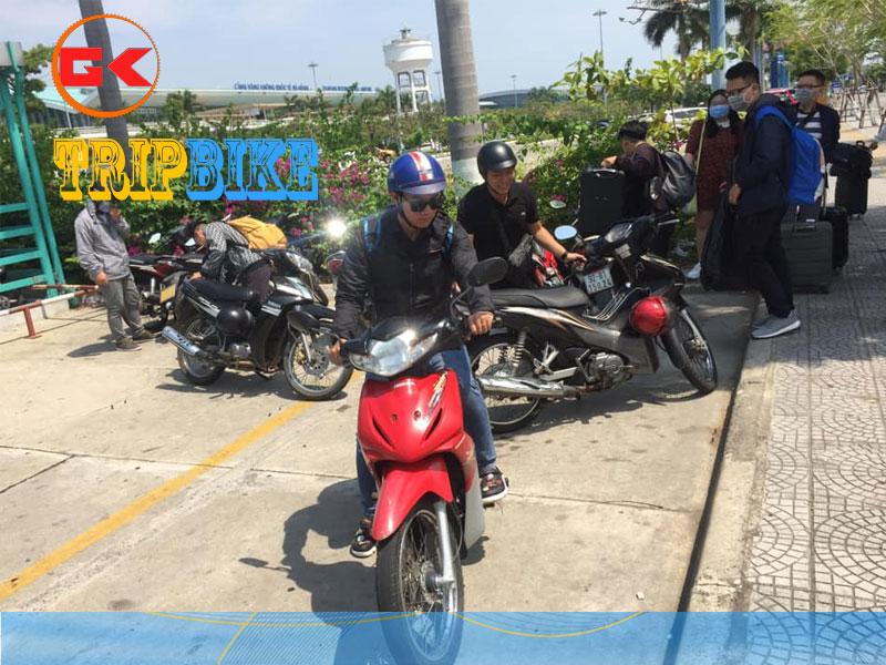 Thuê xe máy sân bay Phú Bài - Hạnh Thảo