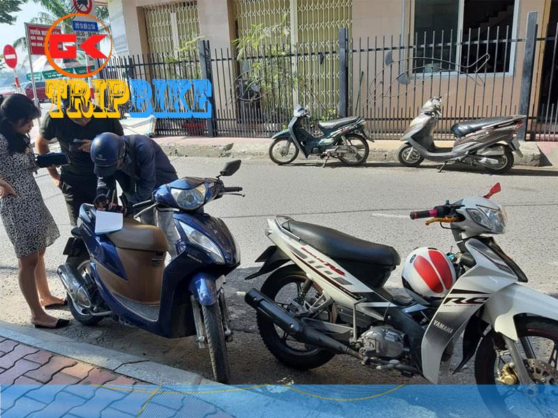 thuê xe máy tại quảng bình anh Nam