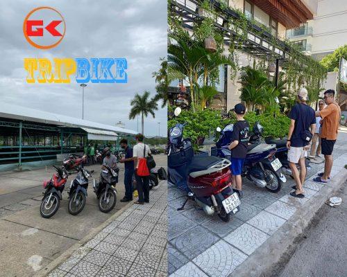 thuê xe máy tại sân bay nha trang Hải Phong