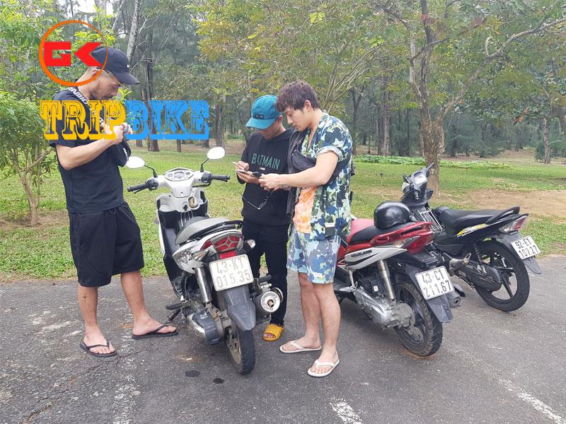 Thuê xe máy Tân Uyên Bình Dương Chị Huệ