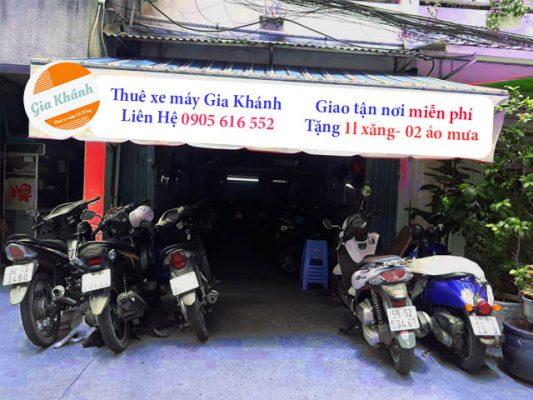 Thuê xe máy Sài Gòn Tphcm uy tín giá rẻ giao các quận từ 1 đến 12