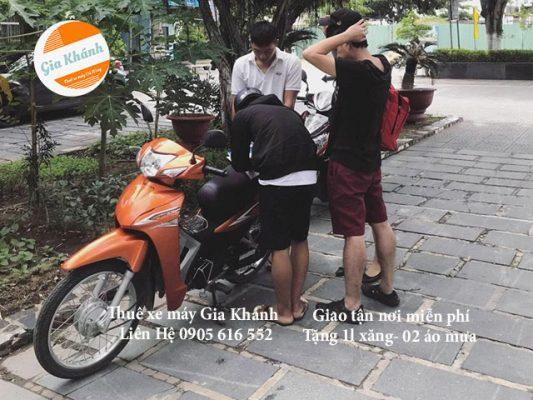 Dịch vụ cho thuê xe máy ở Tphcm Sài gòn