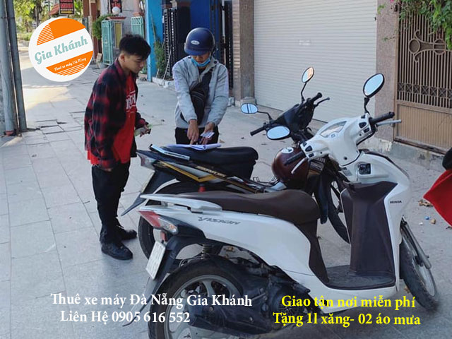 Thuê xe máy Đà Nẵng Quận Hải Châu