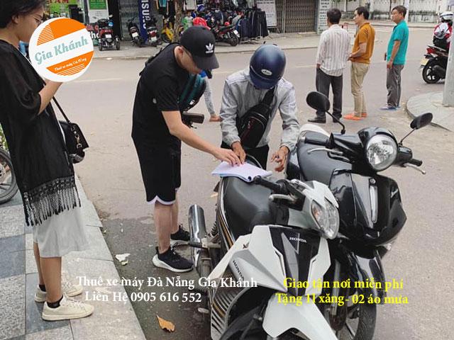 Thuê xe máy hải châu Đà Nẵng