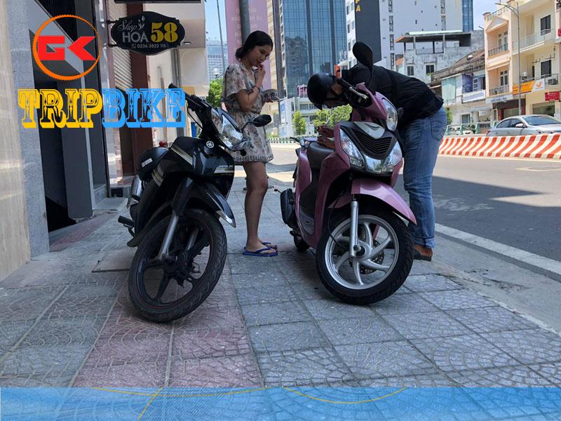 Cho thuê xe máy 2 bánh rạch giá