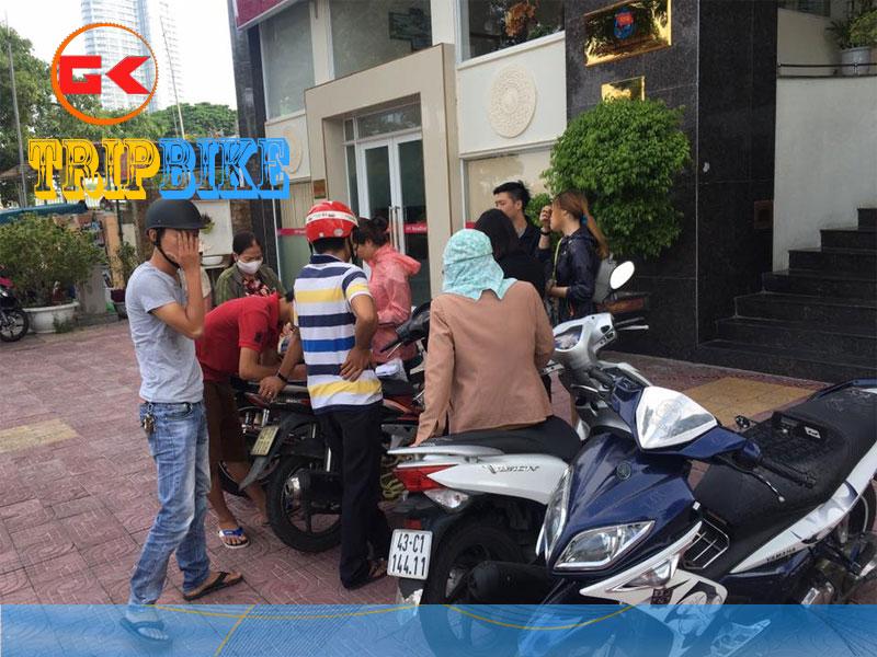 Địa điểm thuê xe máy rạch giá Hotel Bụi