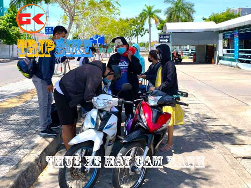 Dịch vụ cho thuê xe máy tại Cam RAnh anh Sang