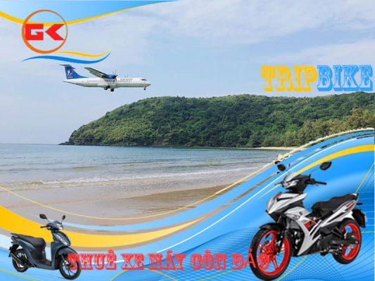 thuê xe máy gần sân bay côn đảo