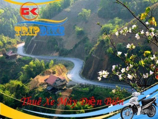 Thuê xe máy Điện Biên