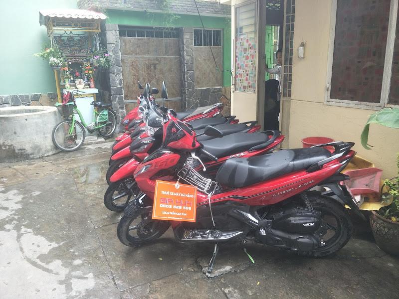 Thuê xe máy Đà Nẵng Gia Huy