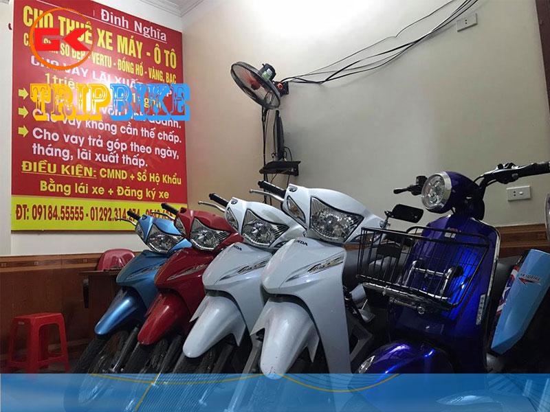 thuê xe máy ở vinh định nghĩa