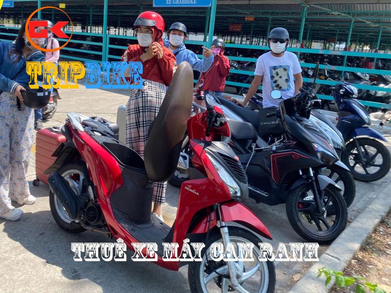 thuê xe máy ở thành phố Cam Ranh Khánh An