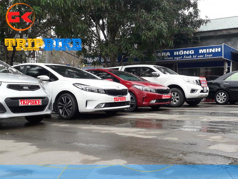 Cho thuê xe tự lái Hồng Minh