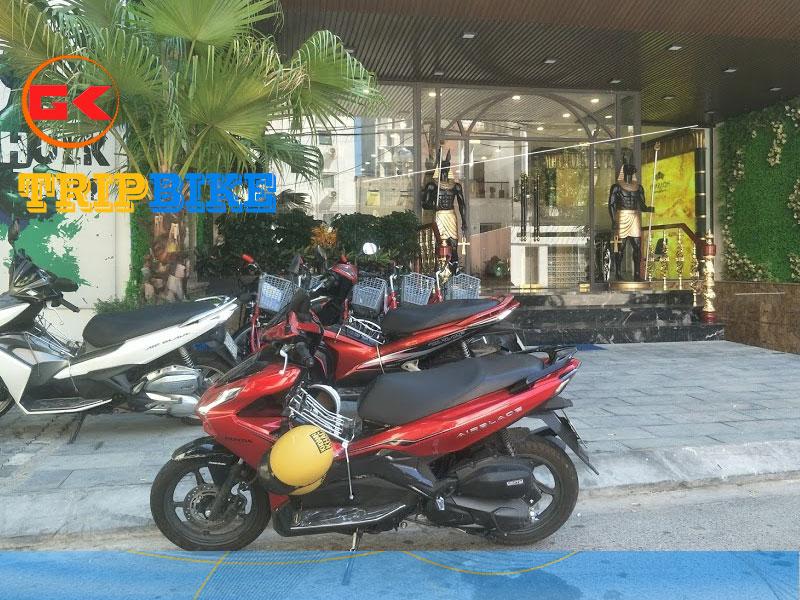 Thuê xe máy gần Bến Xe Đà Nẵng TRIPBIKE