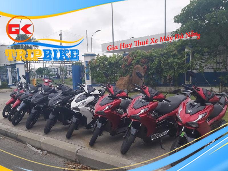 Thuê xe máy Hòa Khánh Quận Liên Chiểu