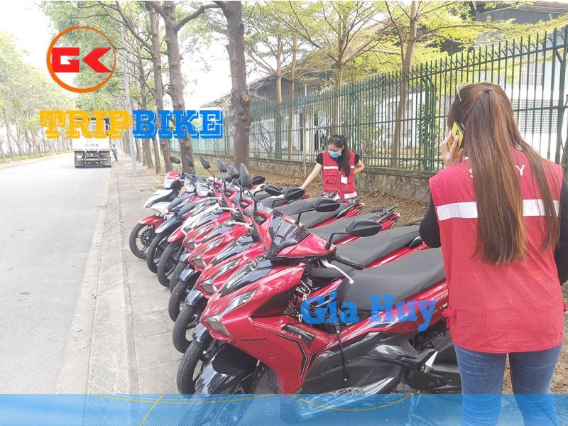 Thuê xe máy ở gần sân bay Đà Nẵng Gia Huy