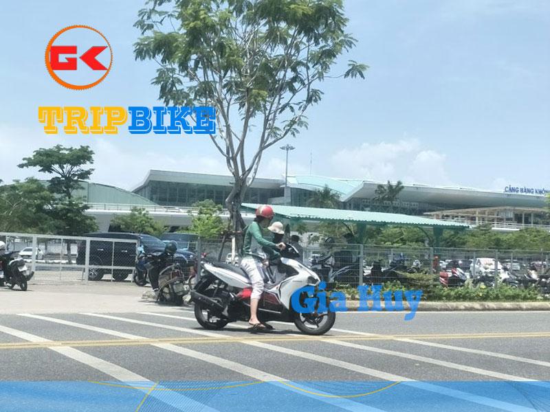 Thuê xe máy ở sân bay Đà Nẵng không cần đặt cọc tiền Gia Huy