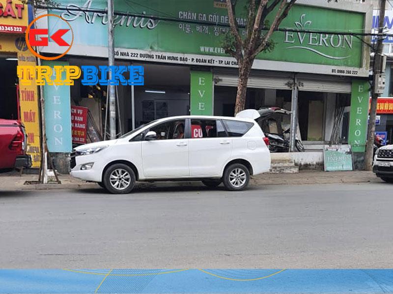 Thuê xe tự lái 4 chỗ Lai Châu Tản Đà
