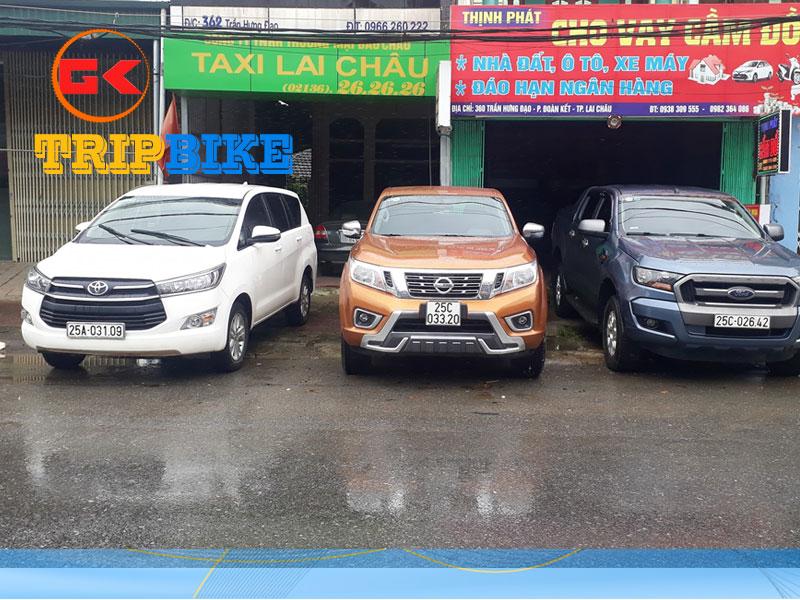 Thuê xe tự lái Lai Châu Uy Tín