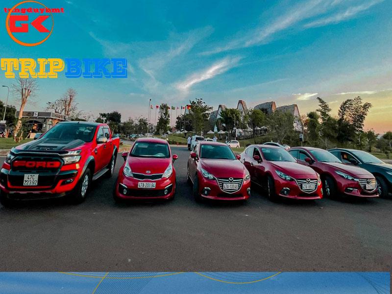Cho thuê xe ô to tự lái BMT
