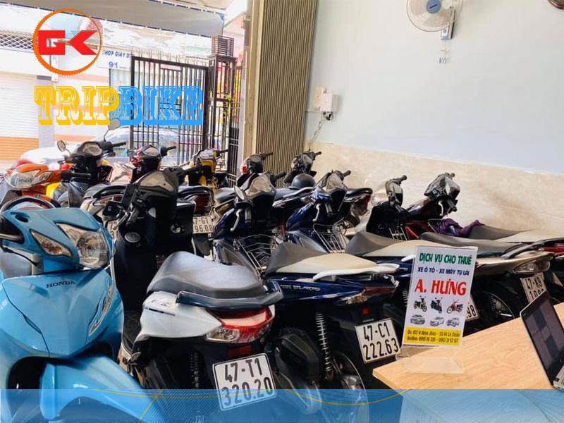 Thuê xe máy Buôn Ma Thuột Anh Hưng